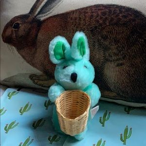PBC green EASTER BUNNY RABBIT 🐰 with basket 🧺